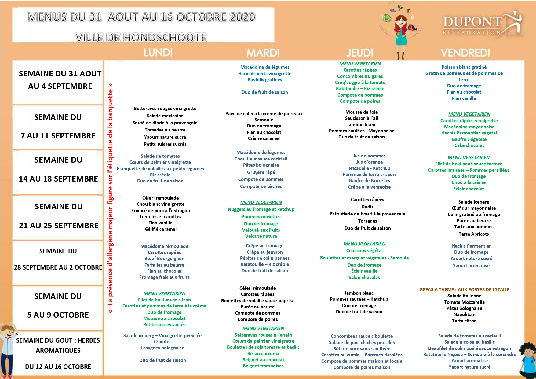 menu scolaire 4 elements 4 jours septembre 2020 - hondschoote page-0001